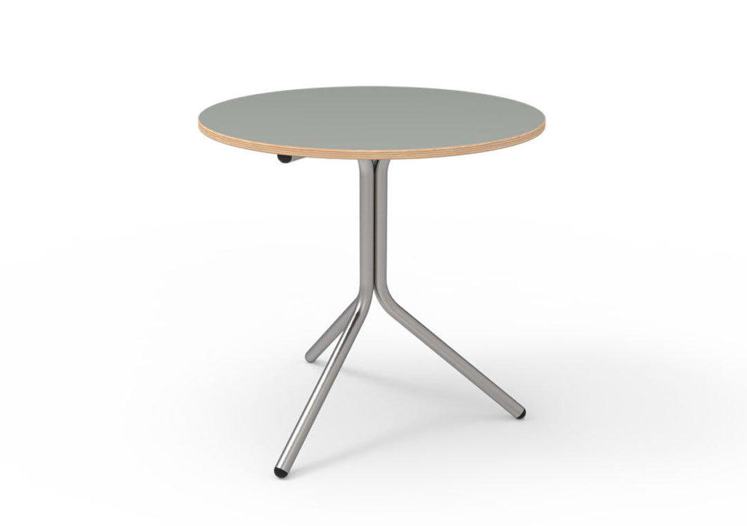 three-times Whiteboard Table